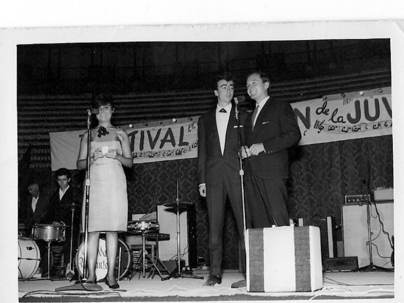 Festival de música que se celebro en Requena en los años 60.