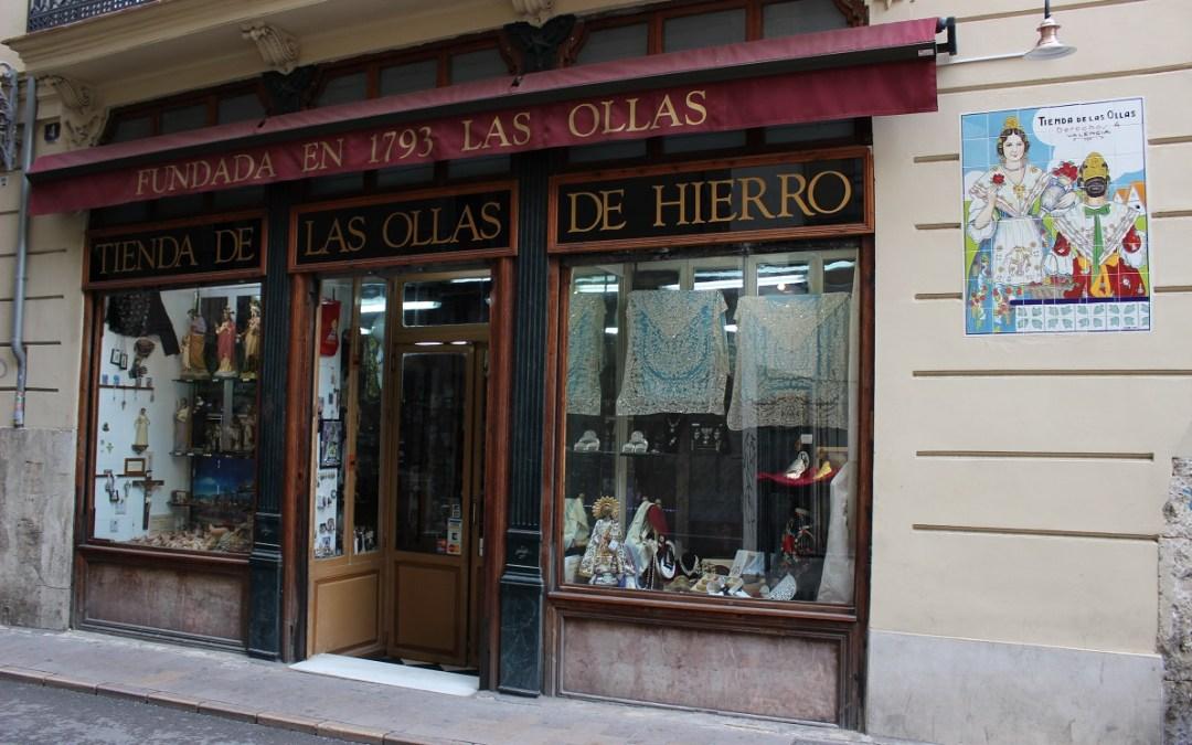 La tienda más antigua de Valencia: la Tienda de las Ollas de Hierro