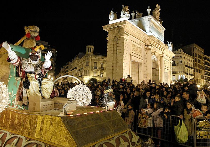 Cabalgata de los Reyes Magos 2017 de Valencia