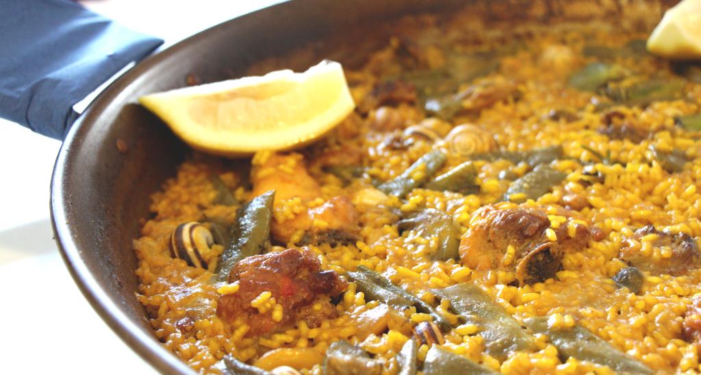 La receta de la verdadera Paella Valenciana