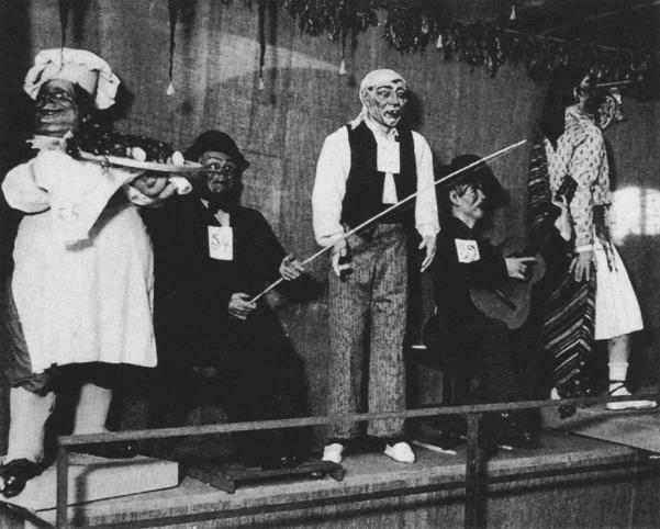 1934 Escena primera exposición del ninot