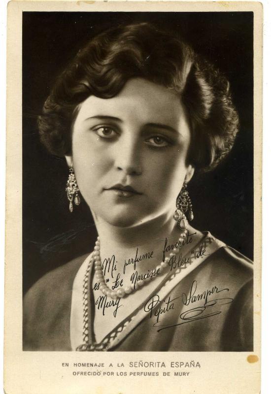 Doña Pepita Samper Bono, Miss España 1929.