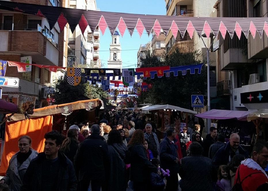 Mercados medievales y ferias de artesanía en la Comunidad Valenciana en septiembre de 2017