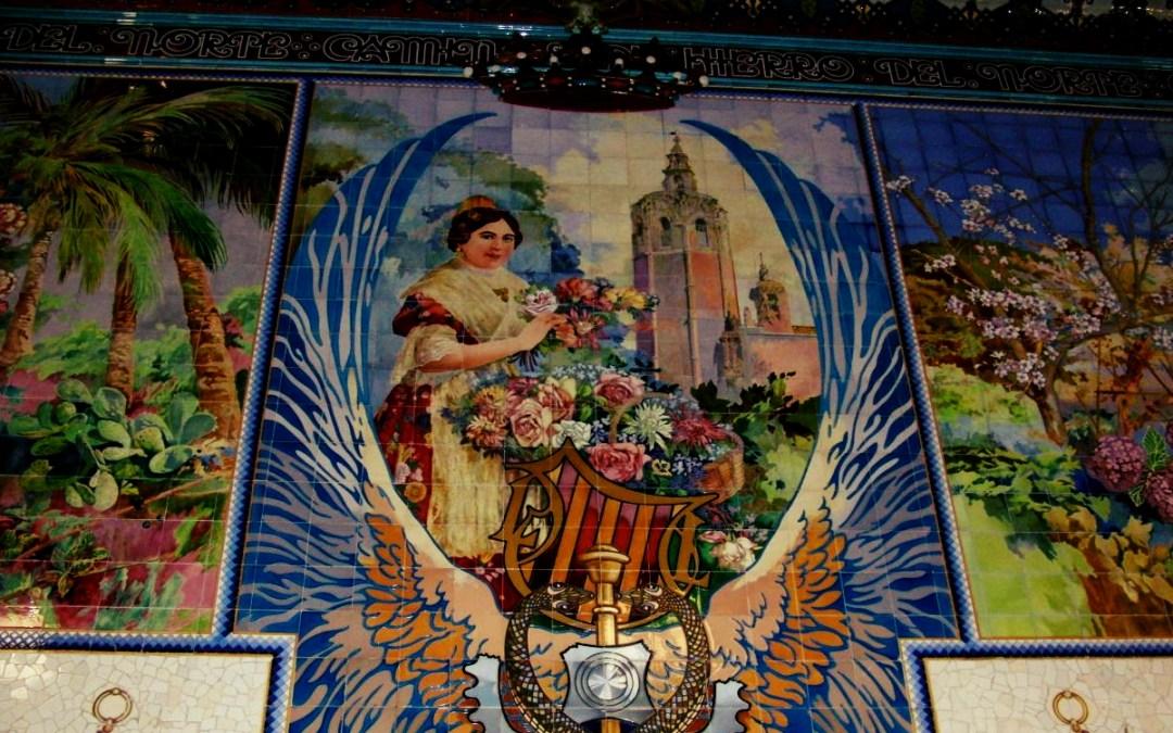 La historia de la valenciana del mosaico situado en la cantina de la Estación del Norte