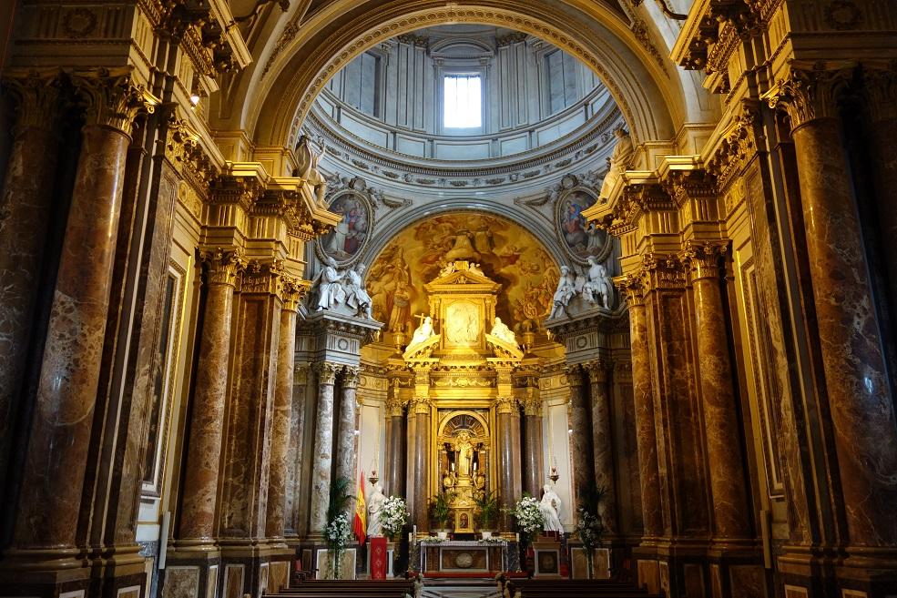 Capilla castrense de San Vicente. Convento de Santo Domingo. Fuente: Tejoleto (Panoramio).