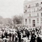 El regreso triunfal en 1905 de la Banda Municipal de Valencia