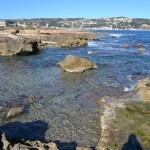 La historia de la piscina natural de la Cala del Ministro de Xàbia
