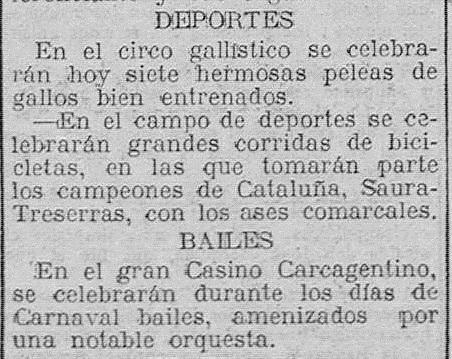 Las Provincias: diario de Valencia: (19/02/1928).