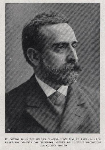 Jaime Ferrán. Imagen de dominio público.