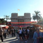 Regresa el mercado medieval Jaime I junto a las Torres de Serranos del 7 al 12 de octubre