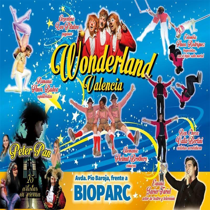Circo Wonderland Valencia Navidad 2016