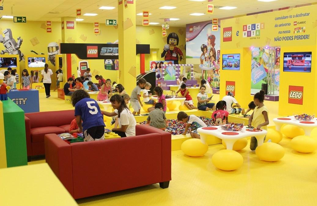 Aqua inaugura un parque infantil GRATUITO de Lego Fun Factory para los más pequeños