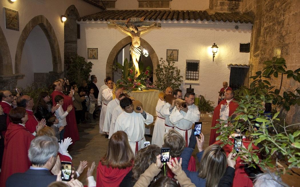 La Procesión del Cristo de las Penas, una de las más bonitas de la C. Valenciana, será este jueves