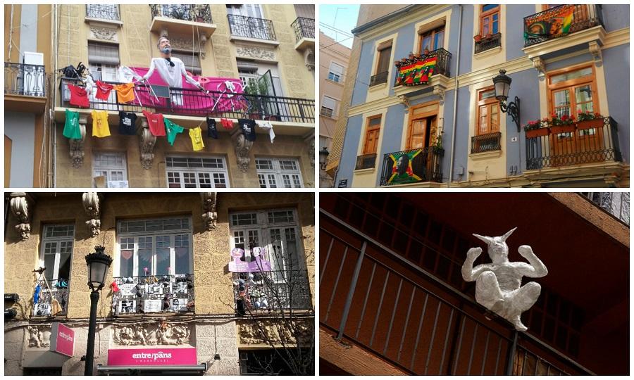 A les Balconades 2017: Russafa se llena de intervenciones artísticas, talleres y actividades