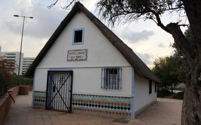 La barraca de Vicentet i Rafaelet del barrio de Malilla