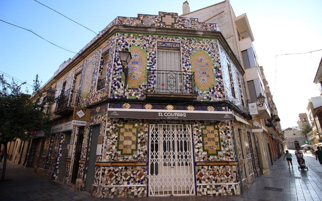 La preciosa Casa de Trencadís de Benimaclet