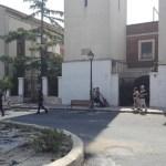 El cruce entre Arzobispo Olaechea y San Marcelino se convierte en peatonal