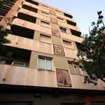 El edificio de los socarrats de Valencia