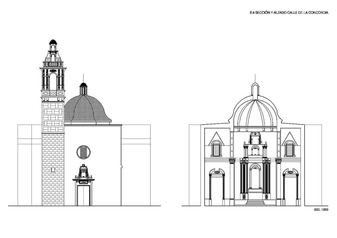 La torre de san bartolom el campanario sin iglesia de la - Escuela superior de arquitectura de san sebastian ...