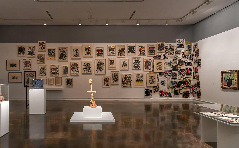 La obra de Joan Miró llega a Valencia con una gran exposición de 200 obras en el IVAM