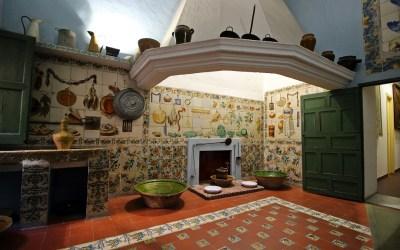 La bella cocina valenciana del Palau del Marqués de Montortal de Carcaixent