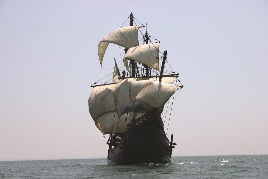 La Nao Victoria visita La Marina de Valencia
