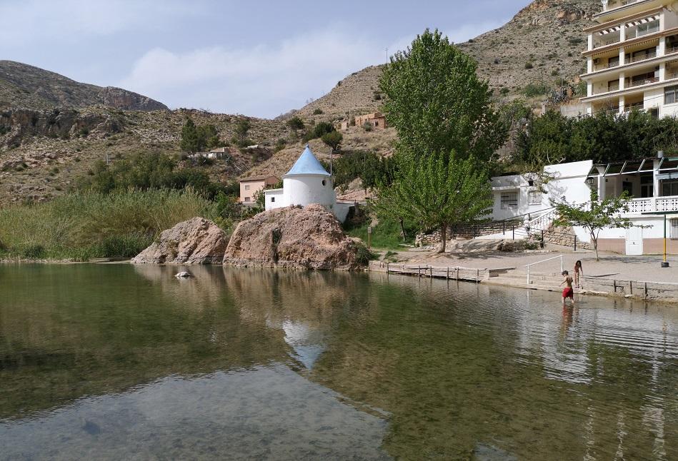 El Motor de Gestalgar, la piscina natural de Gestalgar