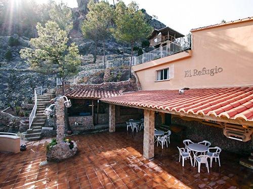 Alberge El Refugio en Montanejos
