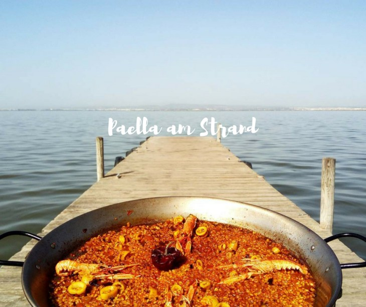 Paella am Strand Valencia Titelbild