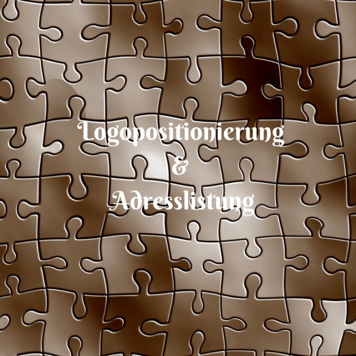 Titelbild_Logopositionierung & Adresslistung