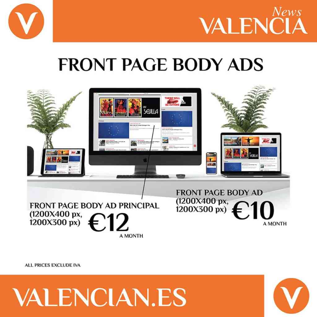 Advertise in Valencia News 3