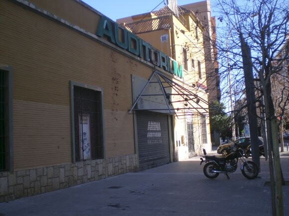 Arena Auditórium, barrio de Benimaclet, Valencia