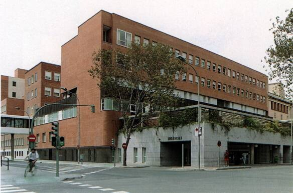 Ala de urgencias del Hospital Clínico donde ocurrieron los hechos