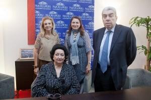 Caballé vuelve a Valencia con su hija en un concierto que recibirá la medalla del Palau en su 25 aniversario