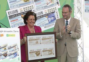 La alcaldesa de Valencia, Rita Barberá, y el presidente de la Generalitat, Alberto Fabra.