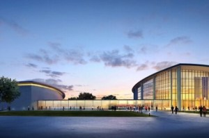 Recreación de la ampliación del Palacio de Congresos