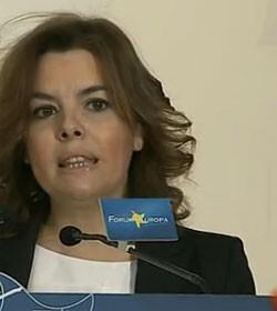 La vicepresidenta del Gobierno presentará a la alcaldesa de Valencia, Rita Barberá.