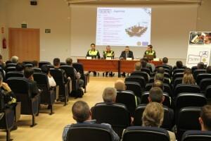 La asistencia ha sido bastante importante de cuerpos de seguridad/plv