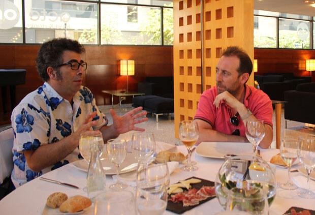 Agustín Jiménez y Antonio Molero. Foto: Javier Furió