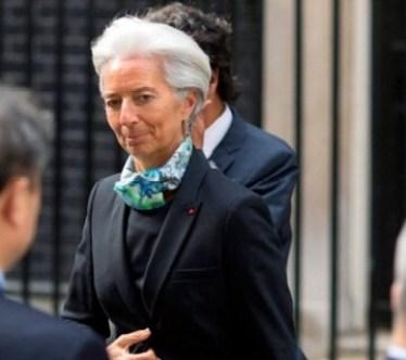 Christine Lagarde, presidente del FMI