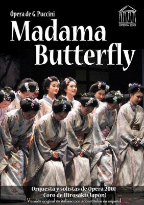 Cartel Madama Butterfly