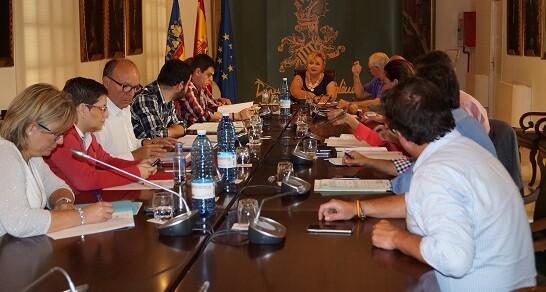 Constitución de la Comisión de Bienestar Social.