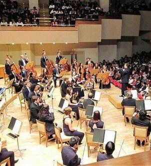 Un concierto en el Palau de la Música.