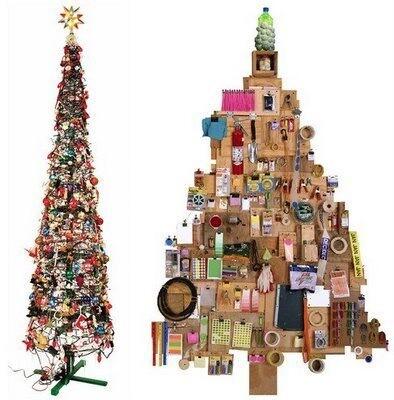 decoracion-navidena-materiales-reciclados