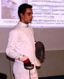 Con esta será la tercera competición internacional en la que el Sala d'Esgrima Marítim València tenga representación.