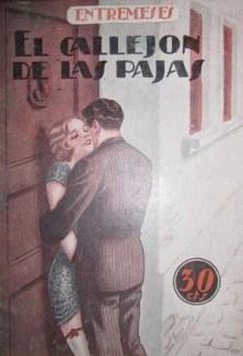 Novela erótica. Años 30' (Siglo XX).
