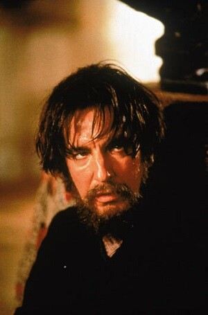 Rickman en la película 'Rasputin'.