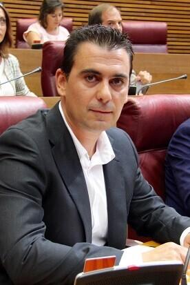 Toni Subiela, diputado de Ciudadanos.