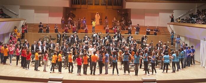 Una imagen de Música para la Familia. (Foto-Eva Ripoll-Archivo Palau Música).