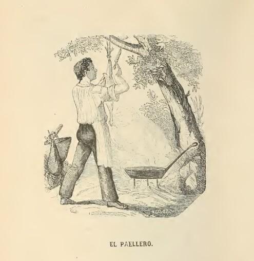 el paellero